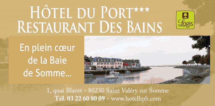 Hotels en baie de somme hotel restaurant au tr port - Hotel du port et des bains saint valery sur somme ...
